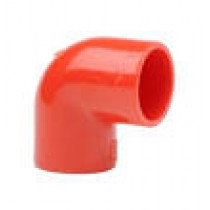 Red ABS 25MM 90 degree Elbow