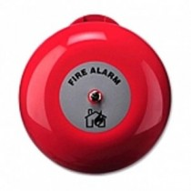 Outdoor Fire Bell, Red, 24Vdc