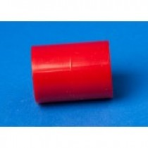 Red ABS 25MM Coupling