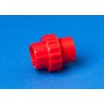Red ABS 25MM Socket Union