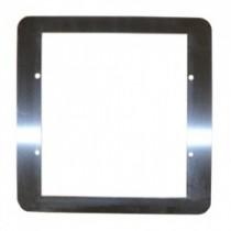 BVCRMSS stainless steel flush mounting bezel