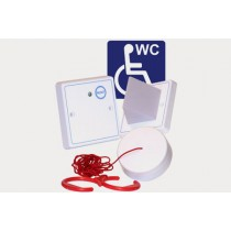 Disabled toilet alarm kit. White. ABS plastic for Care2