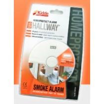 Hallway Smoke Alarm with High Intensity Light