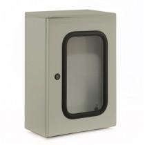 Metal Enclosure with Glass Door