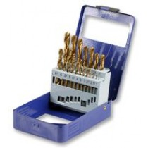 DRILL BIT SET, TITANIUM STEEL 1-10MM