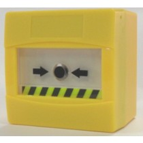 SyCALL Yellow Manual Call Point, Resettable