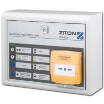 Ziton Extinguishing Status Unit ZP3-ECU2S